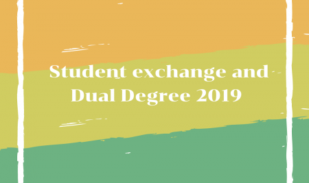 List of Students – Student exchange and Dual Degree 2019